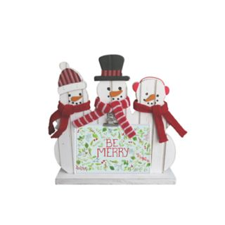 St. Nicholas Square® Snowman Photo Clip Christmas Frame