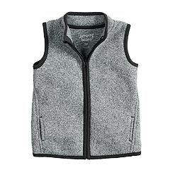 Toddler Boy Jumping Beans® Zip Mock Neck Vest