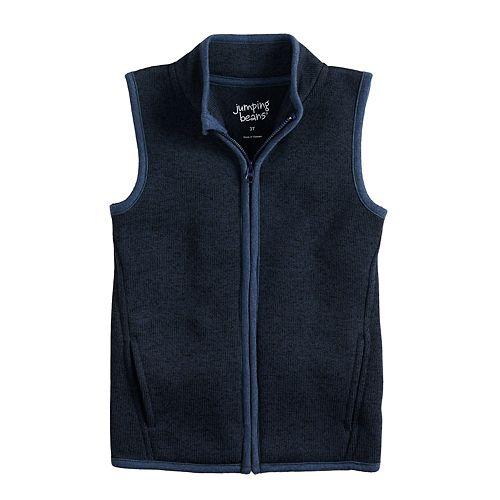 Toddler Boy Jumping Beans® Zip Mock Neck Vest