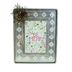 St. Nicholas Square® 4' x 6' Snowflake Frame