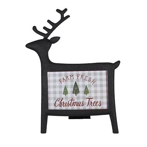 "St. Nicholas Square® Reindeer 4"" x 6"" Christmas Frame"