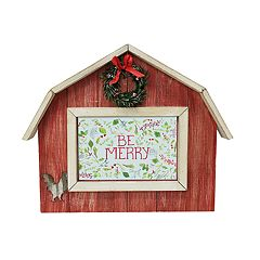 St. Nicholas Square® Farmhouse 4' x 6' Christmas Frame