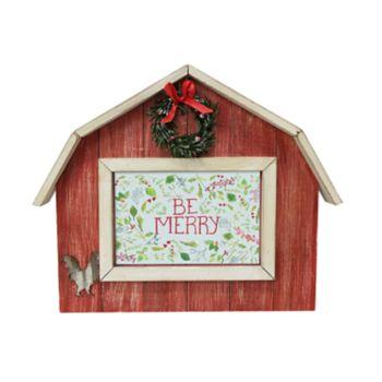 "St. Nicholas Square® Farmhouse 4"" x 6"" Christmas Frame"