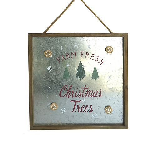 St. Nicholas Square® Magnetic Farmhouse Christmas Wall Decor