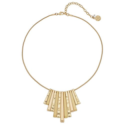 Dana Buchman Fan Statement Necklace