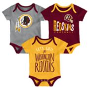 Baby Washington Redskins Little Tailgater Bodysuit Set