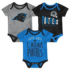 Baby Carolina Panthers Little Tailgater Bodysuit Set