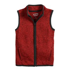 Baby Boy Jumping Beans® Zip Mock Neck Vest