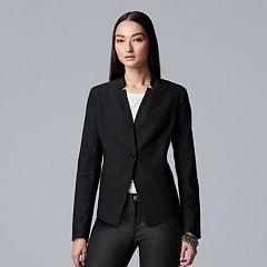Petite Simply Vera Vera Wang Cropped Blazer
