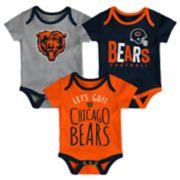 Baby Chicago Bears Little Tailgater Bodysuit Set