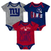 Baby New York Giants Little Tailgater Bodysuit Set
