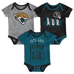 Baby Jacksonville Jaguars Little Tailgater Bodysuit Set