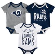 Baby Los Angeles Rams Little Tailgater Bodysuit Set
