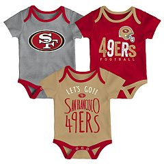 Baby San Francisco 49ers Little Tailgater Bodysuit Set