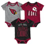Baby Arizona Cardinals Little Tailgater Bodysuit Set