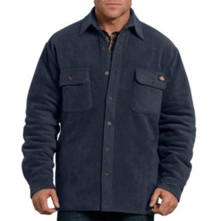 Big & Tall Dickies Relaxed-Fit Fleece Quilted Shirt Jacket