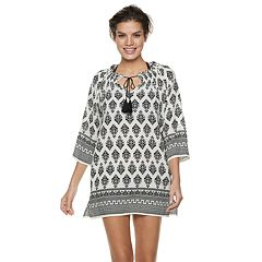 Women's Apt. 9® Tassel Tunic Swim Cover-Up