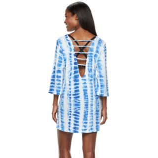 Women's Apt. 9® Tie-Dye Strappy-Back Cover-Up