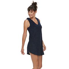 Women's Apt. 9® Shadow Stripe Terry Cover-Up