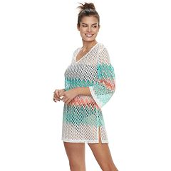 Women's Apt. 9® Heat Wave Crochet Cover-Up