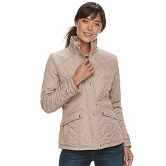 Women's Weathercast Quilted Stretchy Jacket