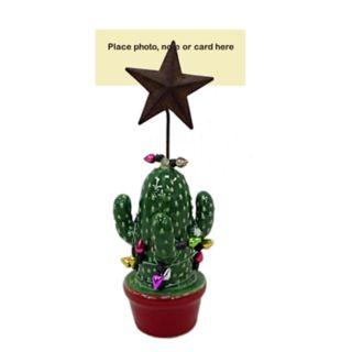 St. Nicholas Square® Cactus Christmas Photo Clip