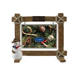 St. Nicholas Square® Texas '2018' 4' x 6' Christmas Frame