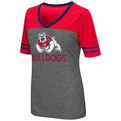 Women's Campus Heritage Fresno State Bulldogs Varsity Tee