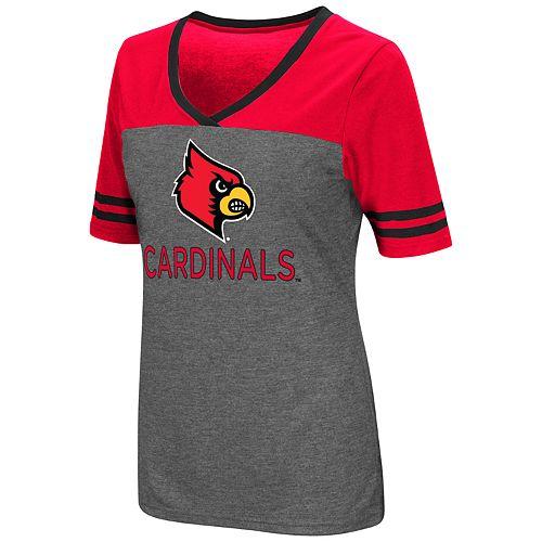 Women's Campus Heritage Louisville Cardinals Varsity Tee