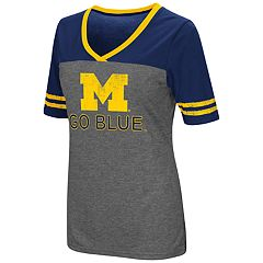 Women's Campus Heritage Michigan Wolverines Varsity Tee