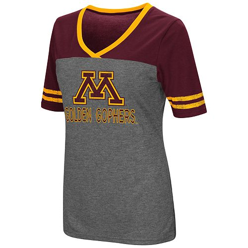 Women's Campus Heritage Minnesota Golden Gophers Varsity Tee