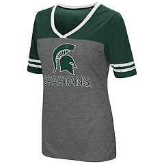 Women's Campus Heritage Michigan State Spartans Varsity Tee