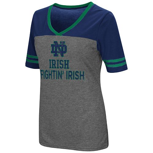 Women's Campus Heritage Notre Dame Fighting Irish Varsity Tee