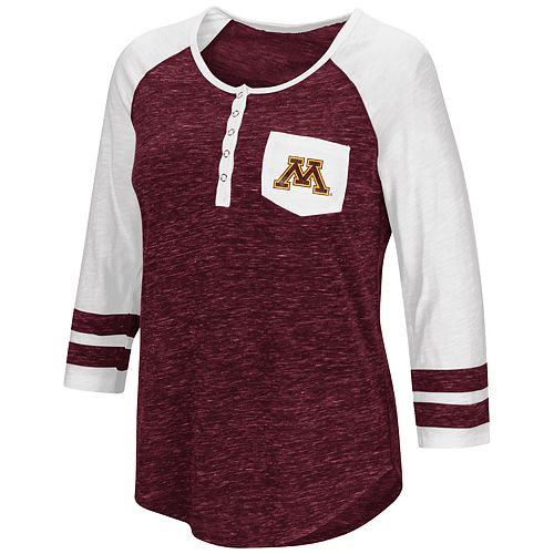 Women's Campus Heritage Minnesota Golden Gophers Conceivable Tee