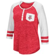 Women's Campus Heritage Wisconsin Badgers Conceivable Tee