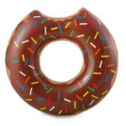 RhinoMaster Play Gourmet Chocolate Doughnut Inflatable Pool Tube