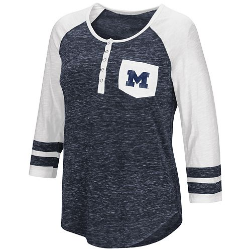 Women's Campus Heritage Michigan Wolverines Conceivable Tee