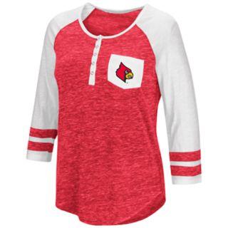 Women's Campus Heritage Louisville Cardinals Conceivable Tee