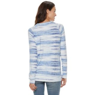 Women's SONOMA Goods for Life? Supersoft Crewneck Sweatshirt