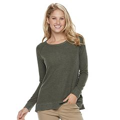 Women's SONOMA Goods for Life™ Supersoft Vented Crewneck Sweatshirt