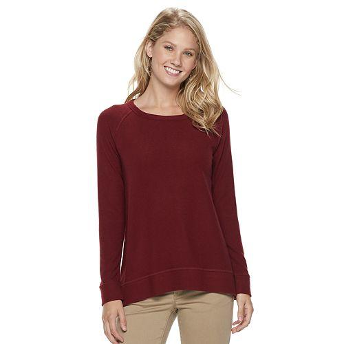 746ad8e46 Women's SONOMA Goods for Life™ Supersoft Crewneck Sweatshirt