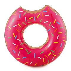 RhinoMaster Play Strawberry Doughnut Inflatable Pool Tube