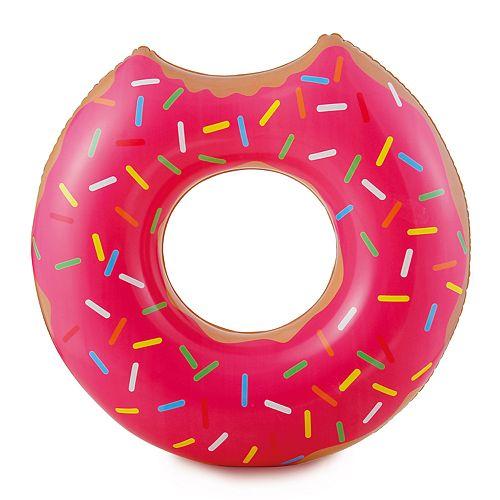 RhinoMaster Play Strawberry Doughnut Inflatable Pool Tube