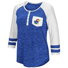Women's Campus Heritage Kansas Jayhawks Conceivable Tee