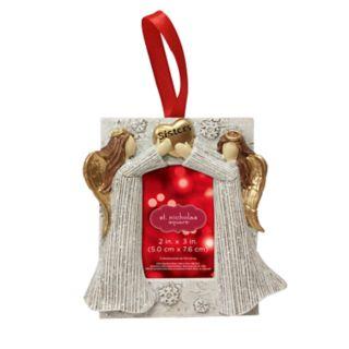 "St. Nicholas Square® ""Sisters"" 2"" x 3"" Photo Holder Christmas Ornament"