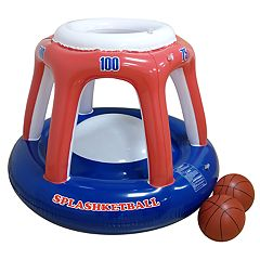 RhinoMaster Play Blow Up Splashketball Inflating Basketball Pool Toy