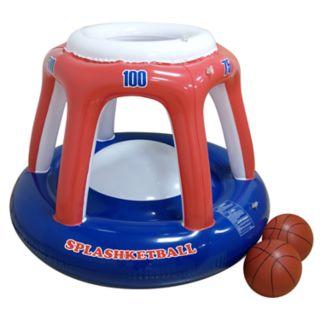 RhinoMaster Play Blow Up Splashketball Inflating Basketball Pool Toy