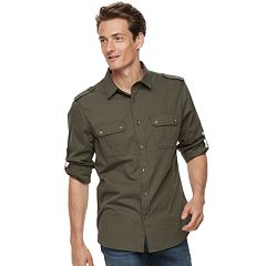 Men's Rock & Republic Textured Button-Down Shirt
