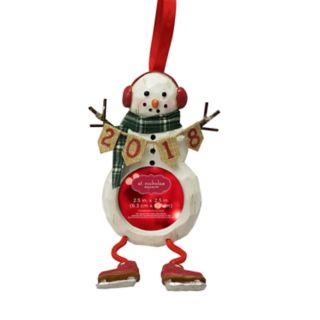 "St. Nicholas Square® ""2018"" 2.5"" x 2.5"" Photo Holder Christmas Ornament"