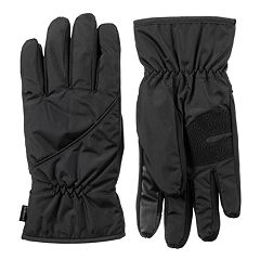 Men's isotoner SleekHeat™ smarTouch® Pieced Gloves